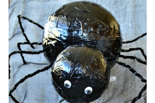 DIY Black Widow Spider