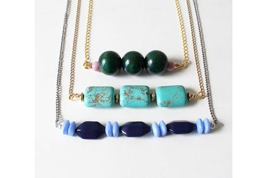 DIY Short Necklaces