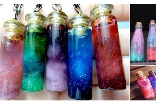 How to Make Your Own Nebula In A Bottle