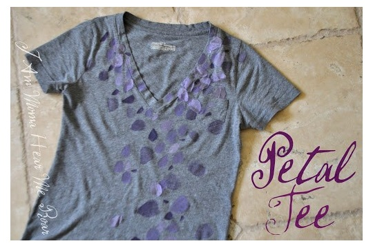 Petal Tee for Spring