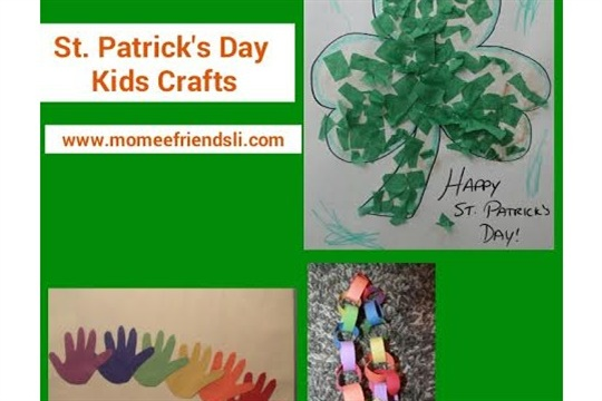 St. Patrick's Day Kid Crafts