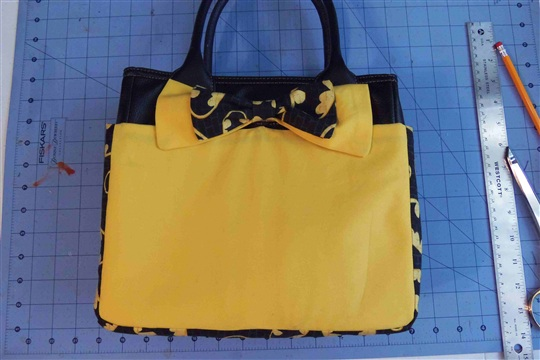 DIY Friday Batman Purse Cover
