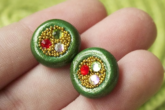 St. patrick's day: pot 'o gold earring tutorial