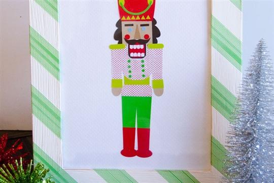 Easy Christmas Crafts A DIY Paper Nutcracker