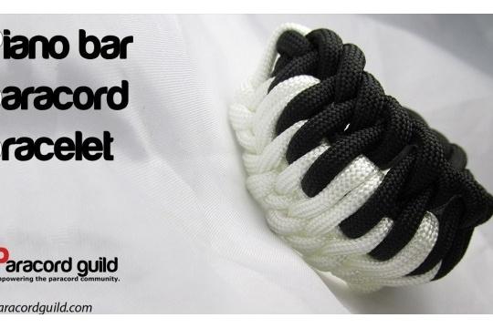 Piano bar paracord bbracelet