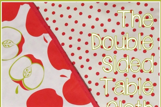 Double Sided Picnic Table Cloth