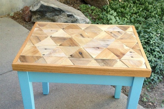 Pallet Top Table