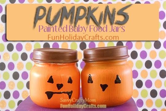 Halloween Crafts Pumpkins