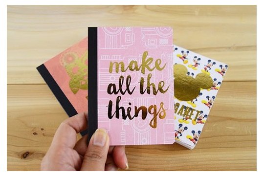 Personalized Mini Notebooks at DIY Candy