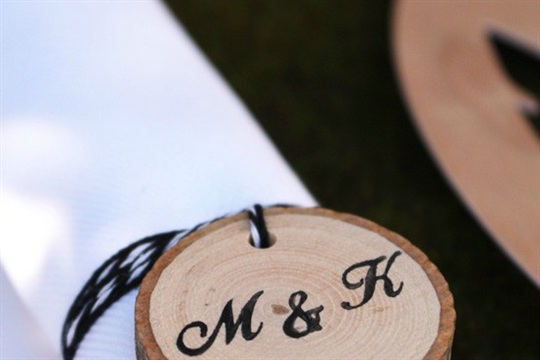 Woodland Wedding Napkins Holders