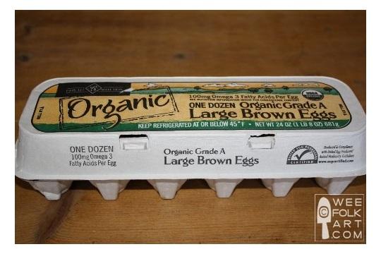 A Carton of Soy Egg Crayons