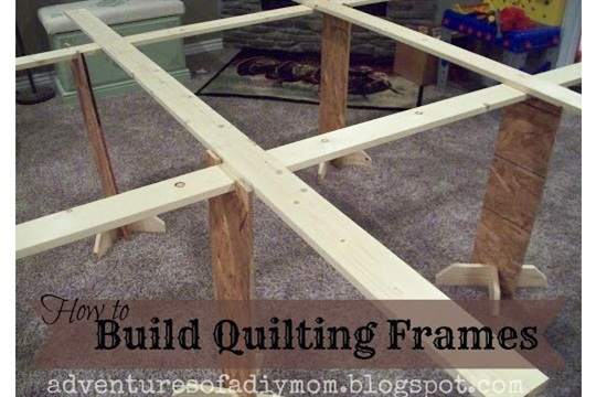 Build Your Own Quilting Frames