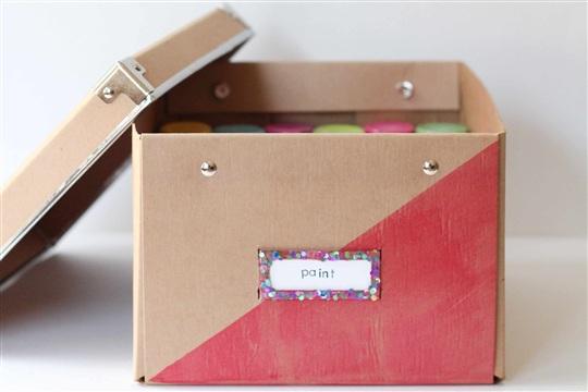 Storage Box Makeover