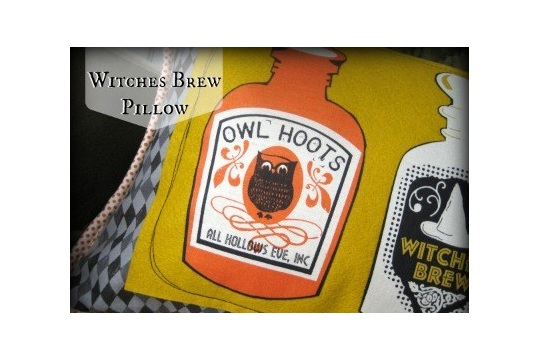 Witches Brew Pillow Blend Fabrics
