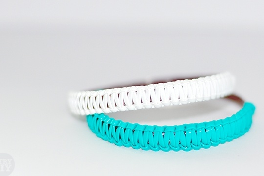 How to make craftlace bangles