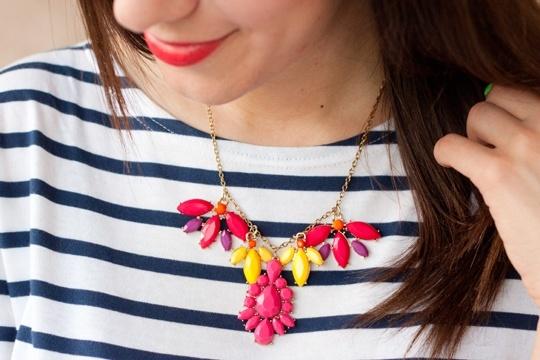 DIY the repurposed necklace