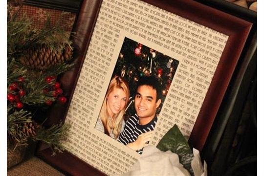 Twas the Night Before Christmas Photo Mat