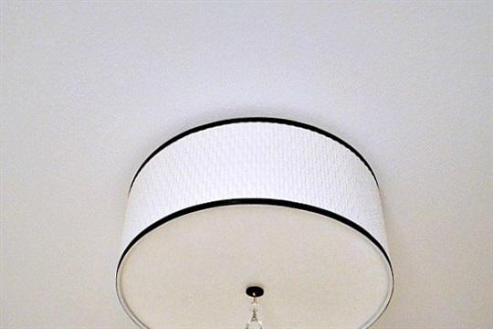 Ikea Mini Hack AL?NG Ceiling Light Makeover