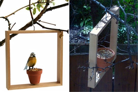 My Brother's DIY Modern Bird Feeder