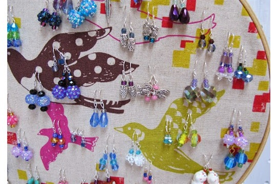 Maya*made how to make simple earrings