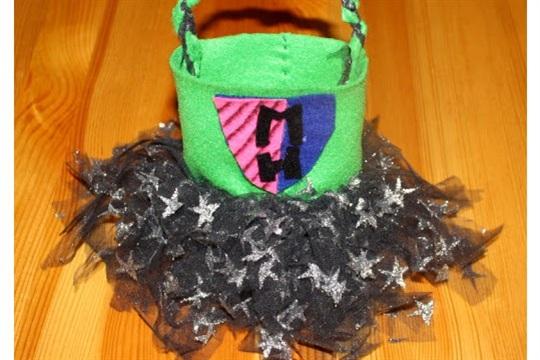 Monster High Tutu Bag Tutorial