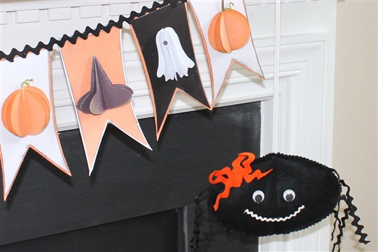 DIY Bouncy Halloween Spider Sew Something Special