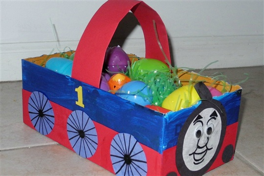 How To Make A Homemade Easter Basket Kids Frugal Fun