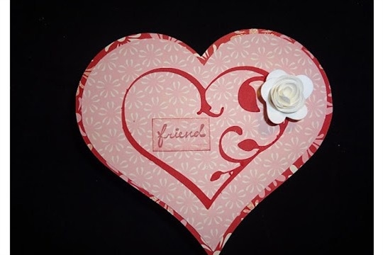 Paper, Scissors, Ink. Lacy Labels Heart shaped box and cholate candy magnets