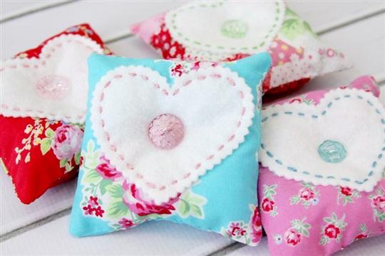 Sweet Heart Lavender Sachets