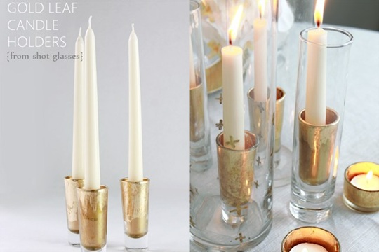 Shot Glass Candle Holders