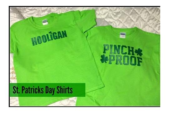 I want to create! St. Patricks Day Shirts
