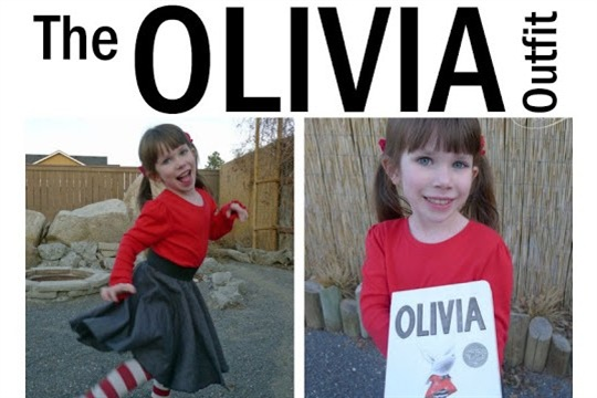 Olivia (the Pig) Outfit or Costume