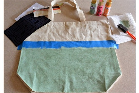 Hashtag Tote Bag DIY