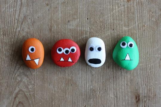 Pebble Monsters - MORNING CREATIVITY