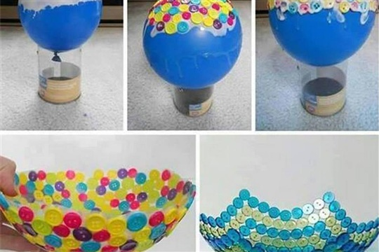 Turn That Stash Of Buttons Into A Unique Bowl Amazing Interior Design