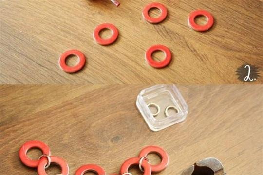 Fashion Friday DIY Washer Necklace