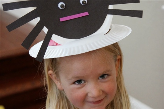 Toddler Approved! Spider Hat and Other Cool Spider Crafts for Kids