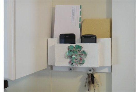 How to Upcycled Mail Organizer