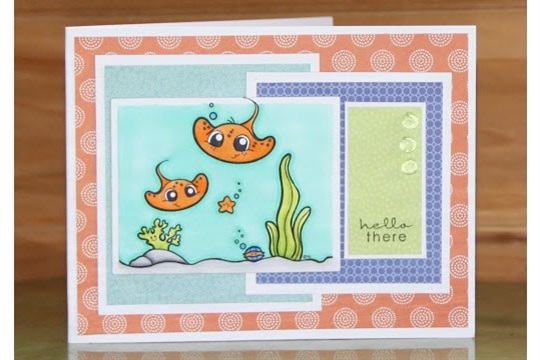 *Pink Star Creations* 2Cute Rubber Stamps + CPS#223