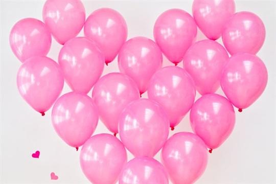DIY Giant Balloon Heart