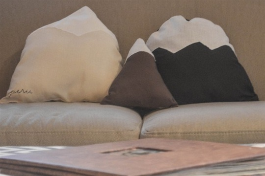 DIY Mountain Pillows