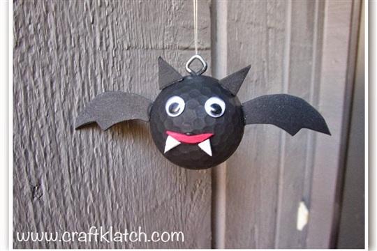 Golf Ball Bat DIY Recycling Craft