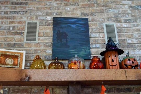 Light Up Halloween Artwork