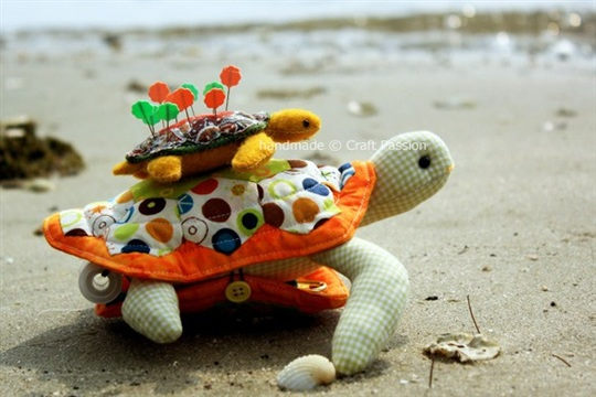 Turtle Pincushion Sewing Pattern