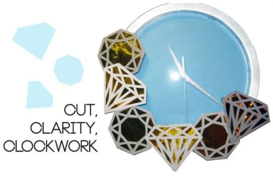 DIY cut, clarity, clockwork