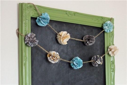 How To Make Fabric Pom Pom Flowers
