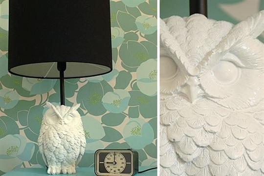 DIY Owl lamp