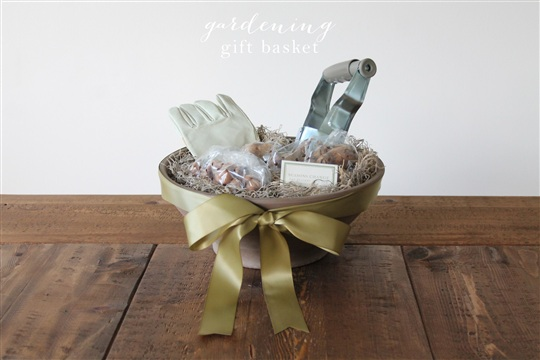 Gardening Gift Basket Julie Blanner entertaining & design that celebrates life