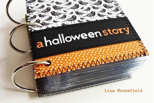 Halloween 3X4 Name Badge Album