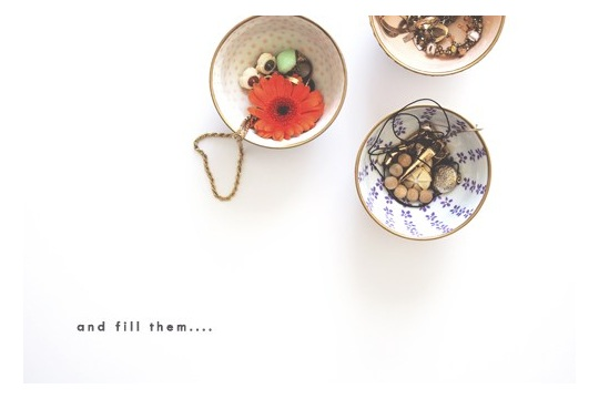 A bowl full